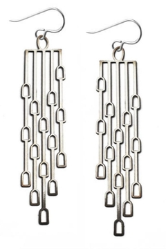 Daphne Olive Long Odyssey Earrings - Product List Image