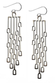 Daphne Olive Long Odyssey Earrings - Product Mini Image