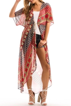 Love in  Long Open Kimono - Product List Image