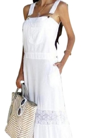 Giocam Long Overall Dress - Product Mini Image