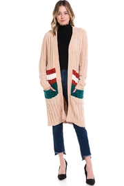HYFVE Long Oversized Cardigan - Product Mini Image