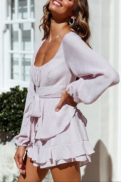 ONE AND ONLY COLLECTIVE Long Peasant Sleeved Romper - Alternate List Image