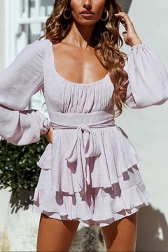 ONE AND ONLY COLLECTIVE Long Peasant Sleeved Romper - Product List Image