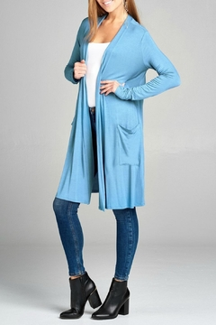 Shoptiques Product: Long Pocket Cardigan