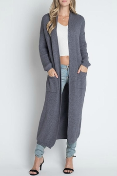 Dreamers Long Pocket Cardigan - Product List Image