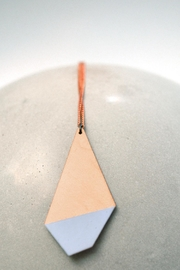 Ruby on Tuesday Long Polygon Necklace - Product Mini Image