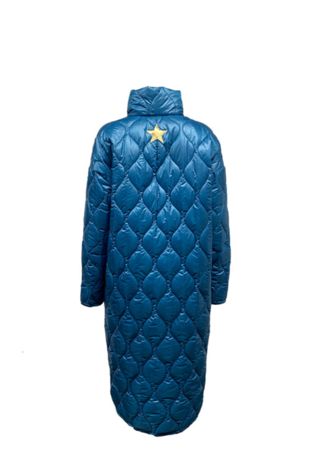 LOST IN ME Long Puffer Coat (More Colors) - Side Cropped Image