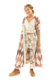 Magnolia Pearl Long QuiltedCoat - Product Mini Image