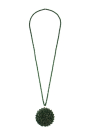 Riah Fashion Long Rondelle Necklace - Product Mini Image