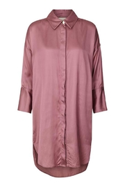 Noa Noa Long Satin Shirt - Product Mini Image
