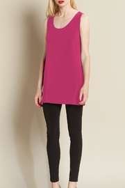 Clara Sunwoo Long Scoop Tank - Product Mini Image