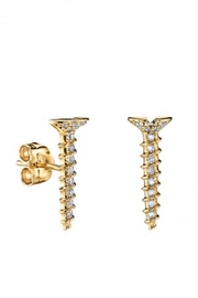 Sydney Evan Long Screw Studs - Product Mini Image