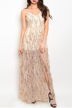 n/a Long Sequin Gown - Product List Image