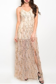 n/a Long Sequin Gown - Product Mini Image