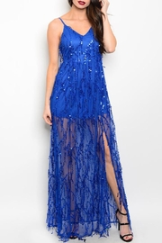 Adore Clothes & More Long Sequin Gown - Product Mini Image