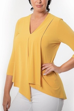 Bali Corp. Long Sleeve Bali Tunic Top - Product List Image