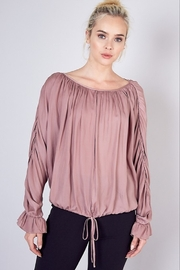 Do & Be Long Sleeve Blouse - Front cropped