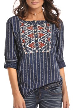 Panhandle Slim Long Sleeve Blouse - Product List Image