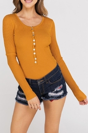 Hello Miss Long Sleeve Bodysuit - Front cropped