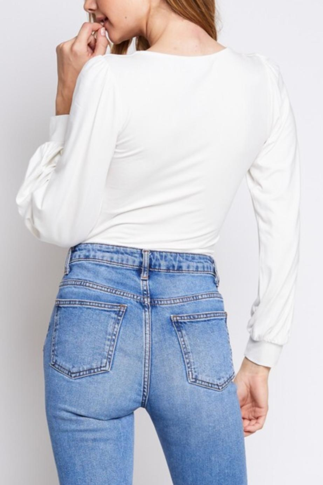 Gifted Long Sleeve Bodysuit - Side Cropped Image