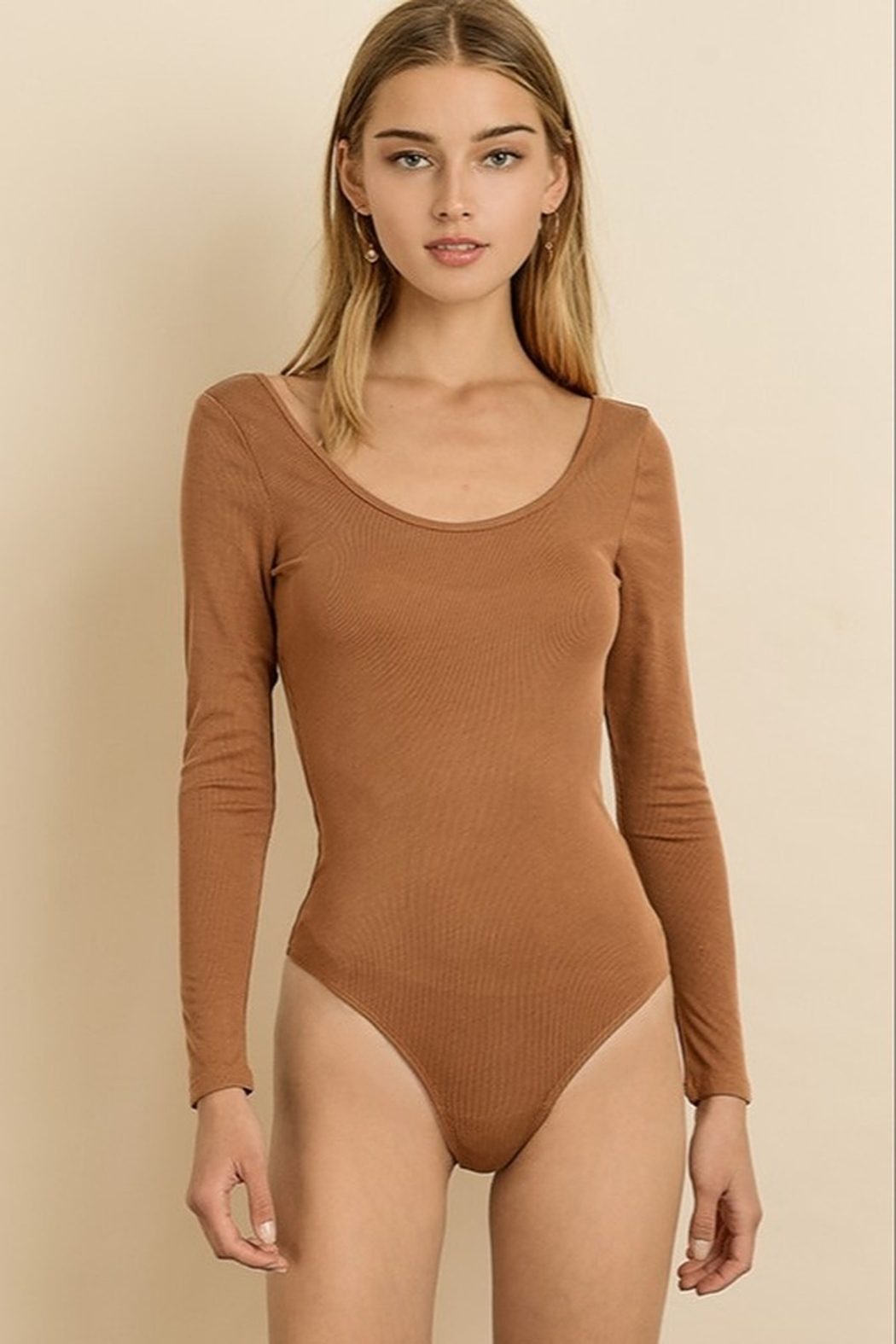 dress forum Long Sleeve Bodysuit - Front Cropped Image