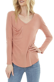 Bobi LONG SLEEVE BOYFRIEND TEE - Product Mini Image