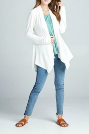 Sinuous Long sleeve cardigan loose fit - Product Mini Image