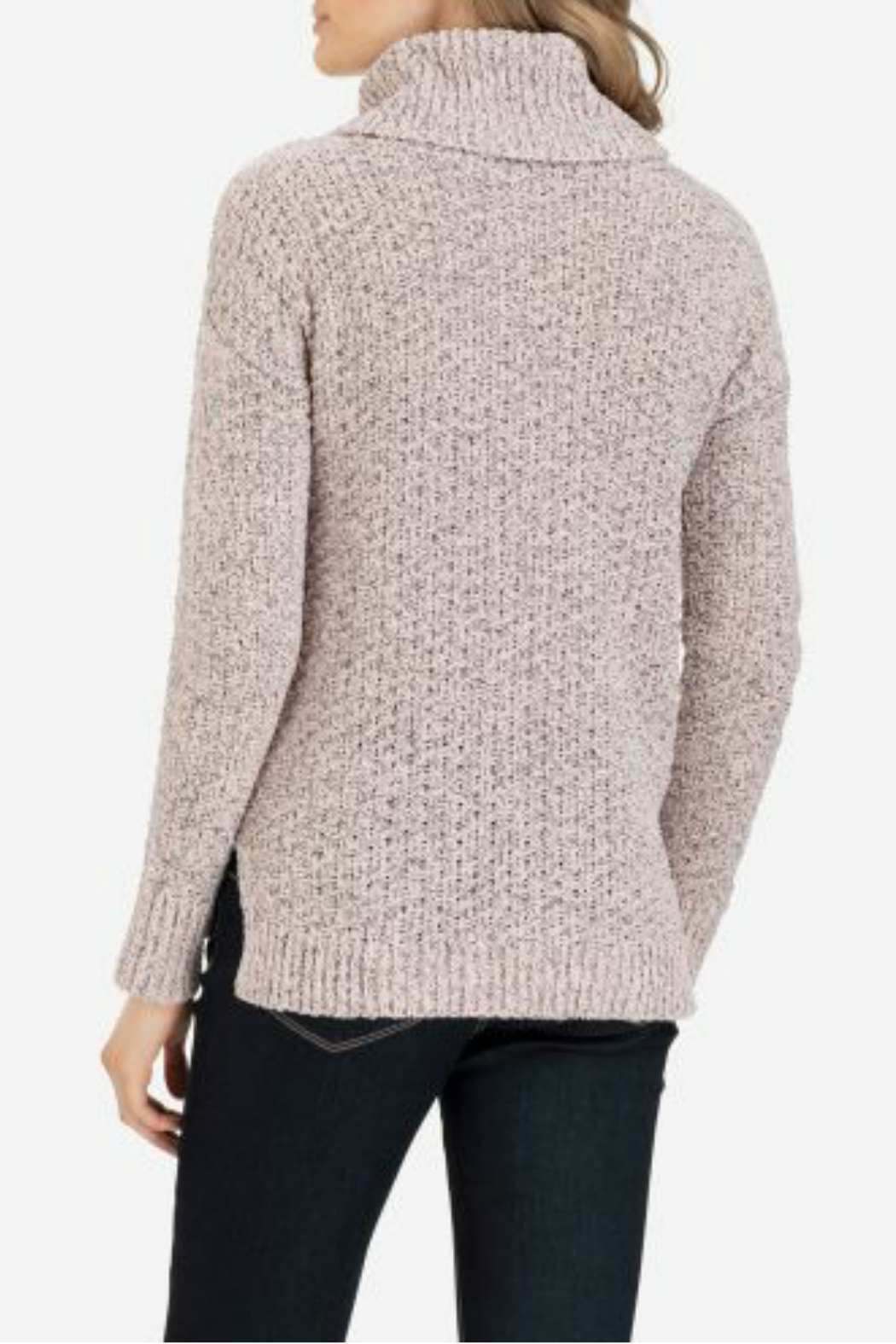 Tribal Long sleeve cowl neck sweater - Front Full Image