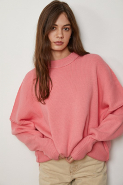 By Together Long Sleeve Crew Neck Knit Sweater - Product List Image