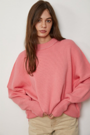 By Together Long Sleeve Crew Neck Knit Sweater - Product Mini Image