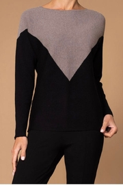 Elena Wang long sleeve crew neck sweater - Front cropped