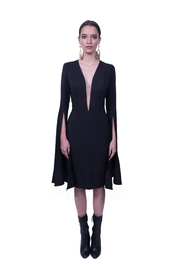 Viesca y Viesca Long Sleeve Dress - Product Mini Image