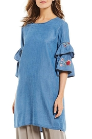 M made in Italy Long Sleeve Dress - Product Mini Image