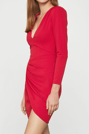 BCBG MAXAZRIA Long Sleeve Dress - Side cropped