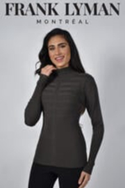Frank Lyman Long Sleeve Fitted Turtleneck Sweater - Product Mini Image