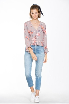 Shoptiques Product: Long-Sleeve Flare Top