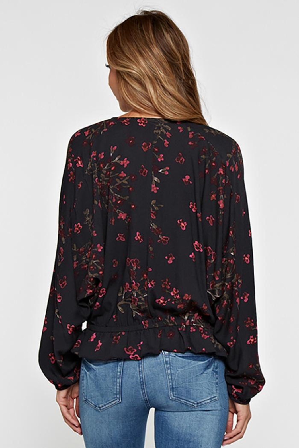 Lovestitch Long Sleeve Floral - Front Full Image