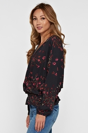 Lovestitch Long Sleeve Floral - Back cropped
