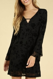 Honey Punch Long-Sleeve Floral Dress - Product Mini Image