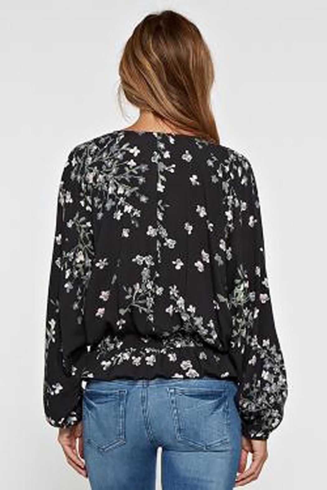 Lovestitch Long Sleeve Floral - Side Cropped Image