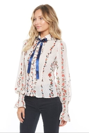 alpha & omega Long-Sleeve Floral Top - Product Mini Image