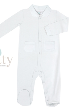 Paty Inc Long Sleeve Footie with Pockets - Product List Image
