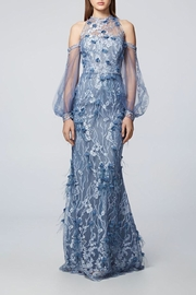 David Meister Long Sleeve Gown - Product Mini Image