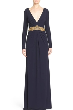 Badgley Mischka Long Sleeve Gown - Product List Image