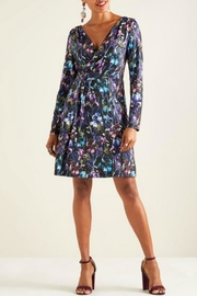 Yumi Long-Sleeve Iris Dress - Product Mini Image