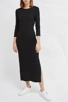 French Connection LONG SLEEVE JERSEY MIDI DRESS - Product List Image