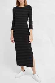 French Connection LONG SLEEVE JERSEY MIDI DRESS - Product Mini Image