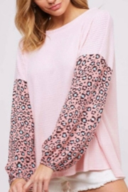 Fantastic Fawn Long-Sleeve Leopard Top - Product Mini Image