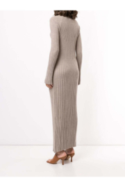 LouLou Studio Long Sleeve Maxi Pleated Knit Dress - Side cropped