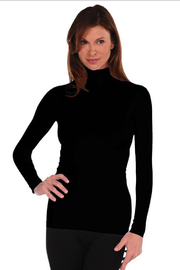 Tees by Tina LONG SLEEVE MOCK NECK TOP - Product Mini Image